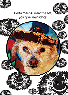 fiesta dog birthday